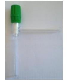 Robinet à 90° avec clé en PTFE Rotaflow 0-4 mm