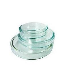 Boîte de Petri en verre 80 mm