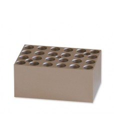 Bloc métallique 24 tubes 0,5 ml