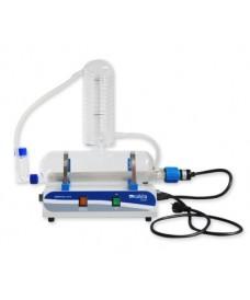 Destilador de agua 4 litros/hora resistencia cuarzo