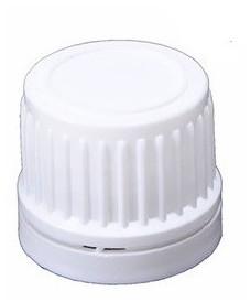 Bouchon blanc DIN18 inviolable avec disque intérieur