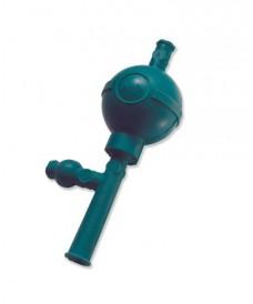 Poire universelle en caoutchouc à 3 valves