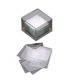 Boîte de lamelles couvre cellules 22x22 mm