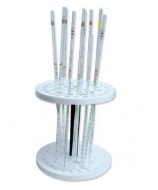 Porte-pipettes circulaire fixe pour 44 pipettes