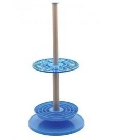 Support circulaire rotative pour 94 pipettes en verre