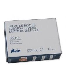 Boîte 100 lames de scalpel stériles nº 15