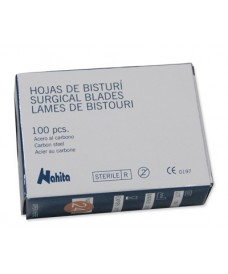 Boîte 100 lames de scalpel stériles nº 22