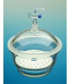 Dessecador vidre 200 mm aixeta de vidre NS24/29