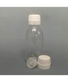 Flacon blanc 60 ml bouchon PP28 inviolable obturateur orifice