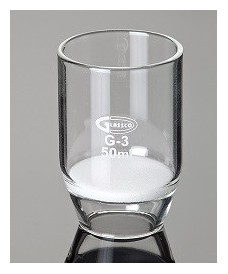 Crisol filtrante de vidrio 15 ml