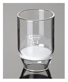 Crisol filtrante de vidrio 50 ml