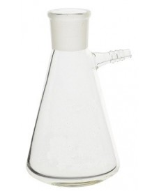 2000 ml Filter Flask, Conical Shape & Glass Connector & SJ
