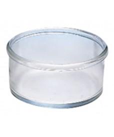 Cristallisoir en verre avec rebord 150 mm