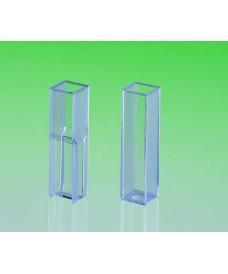 Cubeta de poliestireno cristal para espectrofotómetro Semi micro