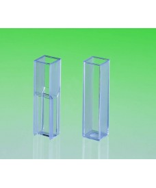 Cuvette en verre de polystyrène pour spectrophotomètre Semi-micro