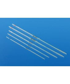 Pipettes en verre jaugées 10 ml, 1 trait, classe AS