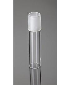 Tub amb junta de vidre esmerilat mascle NS10/19