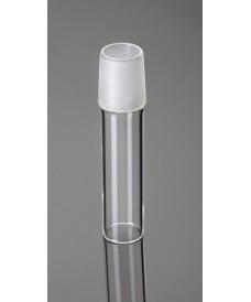 Tubo con junta de vidrio esmerilado macho 55/44