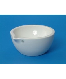Mortero porcelana 80 mm sin mano 80 ml