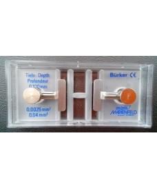 Cellules à numération Bürker avec pincette