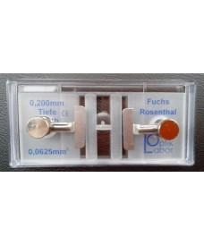 Cellules à numération Fuchs-Rosentha avec pincette