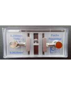Fuchs-Rosentha Counting Chamber with Clamps