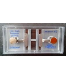 Cellules à numération Neubauer avec pincette
