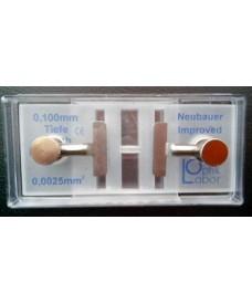 Cellules à numération Neubauer Improved avec pincette