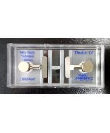 Cellules à numération Thoma avec pincette