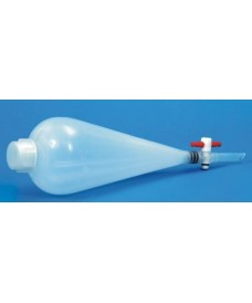 500 ml Plastic Separating Funnel PTFE Stopper