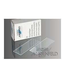 50 Marienfeld-Superior Microscope Slides, Ground Edges & 90°