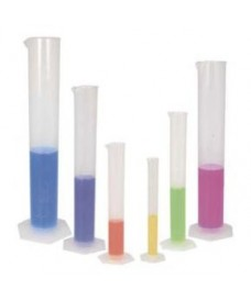 Plastic graduated cylinder, 100 ml