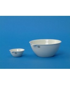 Capsules d'évaporation de porcelaine à fond plat 45 ml