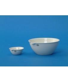 Capsules d'évaporation de porcelaine à fond plat 1000 ml