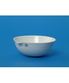 1000 ml Porcelain Evaporating Dish Round Bottom