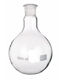 Matraz esférico 100 ml fondo redondo boca esmerilada 14/23