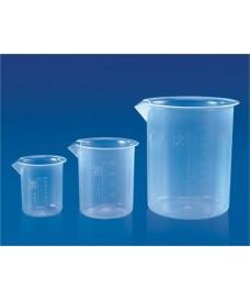 Vaso de precipitado de plástico 500 ml graduado