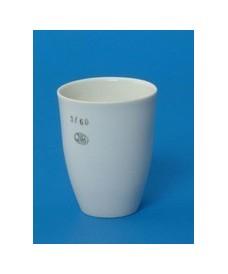 Crisol de porcelana de forma alta 50 ml