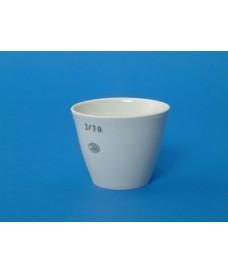 Crisol de porcelana de forma media 80 ml