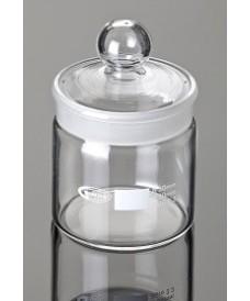 Boîtes à tare en verre 25x50 mm forme haute 15 ml