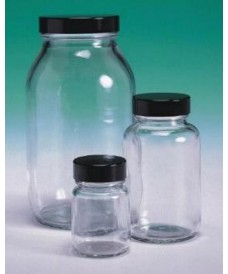 125ml Clear Glass Powder Bottle & Urea Screw Cap