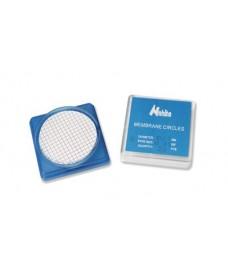 Filtres à membrane quadrillées 47 mm pore 0,45 µm