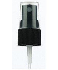 18 mm Black Atomiser Spray Screw Cap