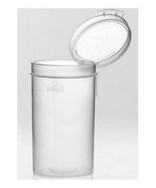 Flacon plastique 90 ml pour échantillon