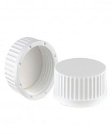 Bouchon à vis GL45 blanc