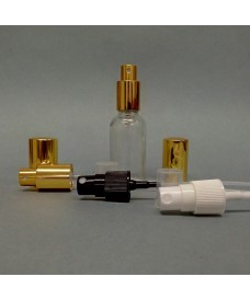 50ml Clear Glass Bottle & 18mm Atomiser Spray