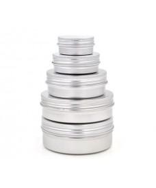 Boîte et bouchon à vis aluminium 15 ml