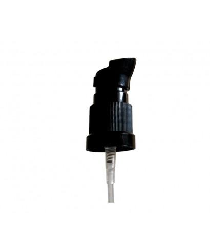 Tapa negra rosca din18 dosificadora para cremas y aceites