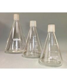 Matràs cònic de vidre amb boca esmerilada mascle NS 40/38 de 1000 ml