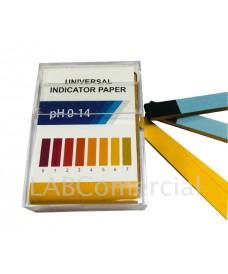 Caixa 200 tiras paper pH 1-14